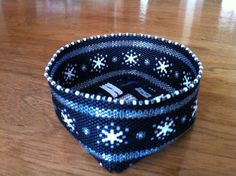 Beaded Basket Pattern- Peyote Stitch Basket with Woven Strip Bottom on Etsy, $25.00