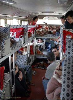 """""""Sleepover"""" Bus"""