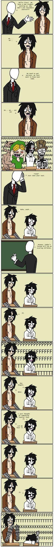 creepypastas at school