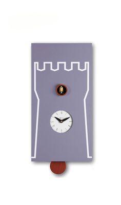 Cucù Torre - Pirondini  - con silenziatore notturno. Orologi a #cucu di #design