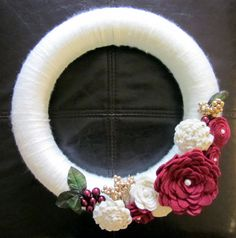 holiday wreath that could be used other that just at Christmas
