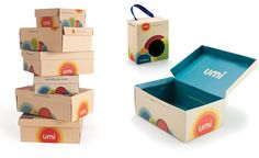 Umi Shoes Packaging by Cricket Design Works #cricketdesignworks