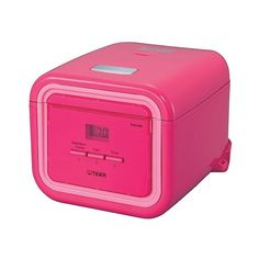 Tiger  Cup Electric Rice Cooker/Multi-Cooker, Pink (15175 RSD) ❤ liked on Polyvore featuring home, kitchen & dining, small appliances, pink, rice cooker, rice steamer, electric multi cooker, electric rice cooker and kitchen electrics