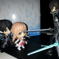 """Stop Kirito-kun! Stop! I'm here"" -Asuna-"