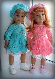 Девочки-цветочки и их наряды / Одежда и обувь для кукол - своими руками и не только / Бэйбики. Куклы фото. Одежда для кукол