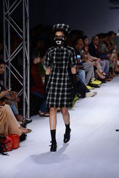 Because Medicine is the Best Laughter by Rajesh Pratap Singh. Shop at: http://www.perniaspopupshop.com/designers/rajesh-pratap-singh #amazonindia #fashionweek #2015 #perniaspopupshop