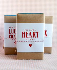 What a unique Valentine's Day gift for kids. Something different than the usual candy.  Use Avery full-sheet labels to make your free printables.