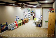 Behind the Scenes ~ Our Schoolroom 2010/2011 - 1+1+1=1