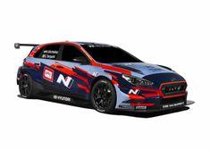 BRC Racing 2019 FIA WTCR  Hyundai i30 N TCR New Drivers, Car And Driver, Hyundai Cars, Auto Hyundai, Motorsport Magazine, Italian Outfits, Car Set, Racing Team, Car Wrap