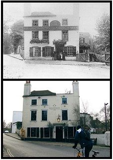 15 of the Oldest Pubs in London: Soak Up Some History (this is The Spaniard's Inn) Hampstead Heath, legend has it that Dick Turpin was born here when his father owned the pub