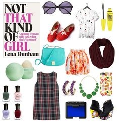 It's about that time when everyone is starting to plan their Halloween costumes. Since we're all about books, we thought it would be fun to create some easy to create literary costumes based on some of our favourite books! You can be that kind of girl if you dress up like Lena Dunham this Halloween! #NotThatKindOfGirl #LenaDunham