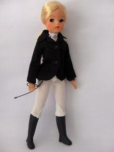 Illie 'Show Jumper' doll, so cute. Vintage Mannequin, Vintage Dolls, 1970s Childhood, Childhood Memories, Baby Boomer Era, Barbie Wardrobe, Sindy Doll, Doll Accessories, Doll Patterns