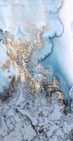 Wallpaper blue marble... Gek ben ik op marmerprint, in de keuken, badkamer maar ook als wallpaper op mijn telefoon en laptop. Dailylifebylin