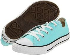 Converse Kids - Chuck Taylor All Star Ox (Toddler/Youth) (Aruba Blue) - Footwear on shopstyle.com
