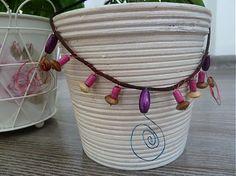 Martinuska / drevený náhrdelník