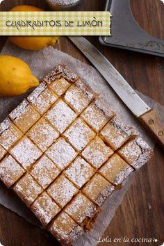 lemon-bars cuadraditos de crema con limon Precioso blog ༺✿ƬⱤღ✿༻