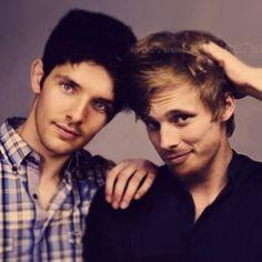 Colin and Bradley, my new celebrity (Irish and British) crushes.