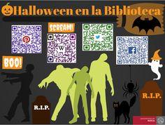 Halloween en la Biblioteca General 2014.