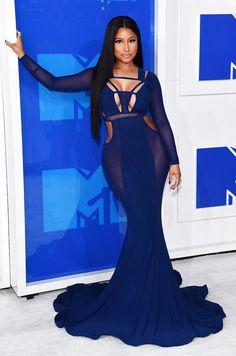VMAs 2016: os mais bem vestidos, tendências e bizarrices!! #MTV Nicki Minaj