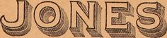 """JONES   Image from page 7 of """"Illustrated sample book & price list of Palm's patent transfer letters, ornaments & trade designs for signs, wagons, cars, machines, etc."""" (1901)"""