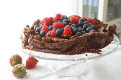 Lizasmatverden-Livet med tre store og en liten: Svigermors melfrie sjokoladekake