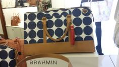 Polka dot Brahmin bag