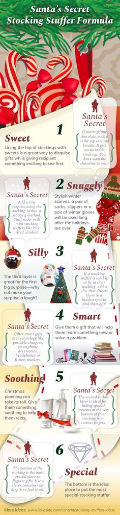 Santa's Secret Stocking Stuffer Formula