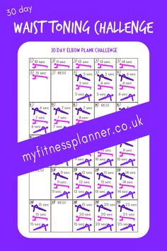 Build core strength and flatten the abs with this at home 30 day fitness challenge | With free printable workout chart | exercise challenge from My Fitness Workout Planner, Workout Calendar, Fitness Planner, Workout Schedule, Workout Guide, Schedule Printable, Printable Workouts, Printable Stickers, Printable Planner