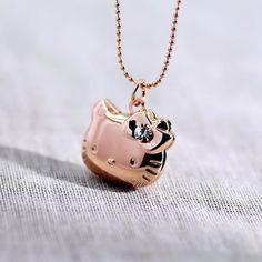 Necklace Pendant Hello Kitty