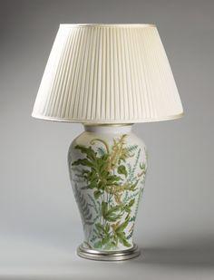 OnlineGalleries.com - FOREST FERNS LAMP