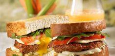 Toasty Sausage Egg Sandwich with Johnsonville Italian Sausage Links by Nathans Natural Sausage Recipes, Egg Recipes, Brunch Recipes, Breakfast Recipes, Healthy Recipes, Brunch Foods, Pastry Recipes, Bread Recipes, Club Sandwich Recipes