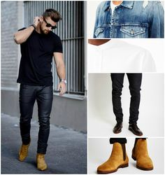 Suede Chelsea Boot Outfit | The Idle Man | Shop Now | #StyleMadeEasy