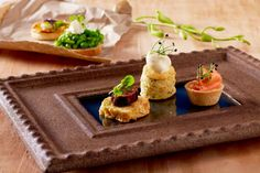 Assorted Canapes - 6