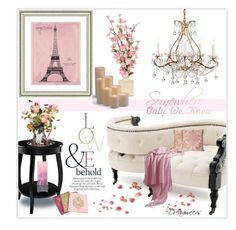 """Meet Me in Paris"" by dreamweevs ❤ liked on Polyvore featuring interior, interiors, interior design, home, home decor, interior decorating, Vintage Print Gallery, Eichholtz, Fortuny and Juicy Couture"