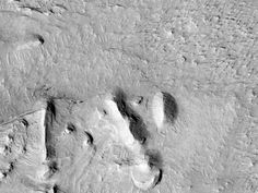 Lugar potencial de aterrizaje para la misión de 2020 en el Cráter Firsoff