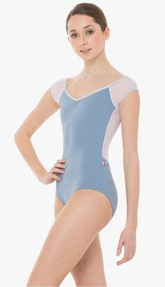 The NINA combines features from the MEAGAN and WENDY styles in a unique style all of its own! Dance Outfits, Ballet Outfits, Ballet Dance Photography, Ballet Clothes, Dance Poses, Dance Leotards, Dance Fashion, Dance Costumes, Dance Wear