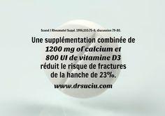 Photo drsuciu La supplémentation diminue le risque de fractures Bold Stripes