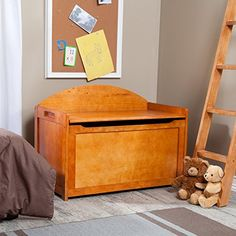 Lipper International 598P Toy Chest Pecan ** Be sure to check out this awesome product. (This is an Amazon Affiliate link and I receive a commission for the sales)