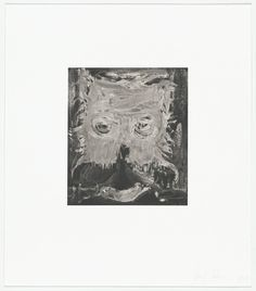 Untitled--Etching from a portfolio of eleven aquatints (seven with etching) and one etching by Gert Tobias(German, born Romania Uwe Tobias (German, born Romania Etching Museum Of Modern Art, Tobias, Moma, Romania, Contemporary Art, German, Illustration, Prints, Collection