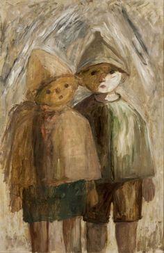 Mali uczniowie - Tadeusz Makowski