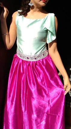 Simple & Sobar Gown I Dress, Tie Dye Skirt, Designer Dresses, Gowns, Simple, Skirts, Collection, Fashion, Vestidos