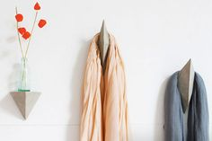 How to Make Faceted Concrete Hooks and Shelves | Brit + Co.