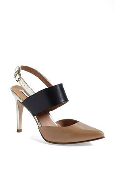 Halogen® 'Marissa' Pump | Nordstrom - these could be great with your tan and black dress! Also with other pant and skirt outfits.