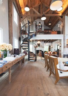 Loft Avec Cheminee Design Phare D Co Int Rieur