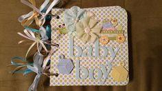 TPHH Premade Baby Boy Chipboard Scrapbook Album by detailed4u in Crafts, Scrapbooking & Paper Crafts, Scrapbooking Albums | eBay