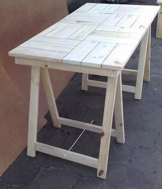 Patio table Cottage series 6 seater with trestle legs - Raw | Brakpan | Gumtree | 111510363