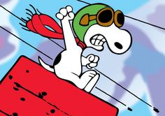 A personal favorite from my Etsy shop https://www.etsy.com/listing/266150785/snoopy-red-baron-refrigerator-magnet-new