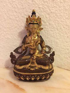 20 th cent. Handmade Art, Asian Art, Nepal, Mysterious, Buddha, Mystery, Copper, Bronze, Technology