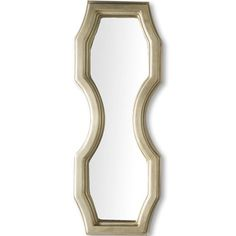 House of Hampton Rustic Gold Wall Mirror