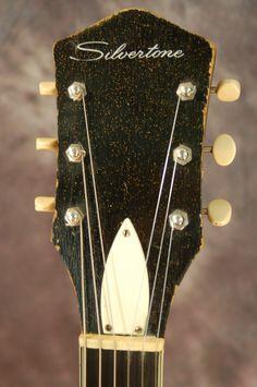 Vintage Guitars for Sale – 1963 Silvertone Jupiter SOLD!!! | Lawman Guitars